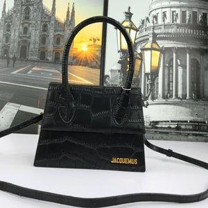 2020 Fashion Bags Alligator Belt Lettera piccola moneta Bag donne Croce Body borsa del cuoio genuino colore puro