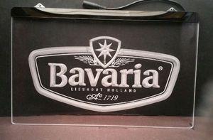 b45 Bavaria logo Beer bar pub club 3d sgins LED Neon Light Sign
