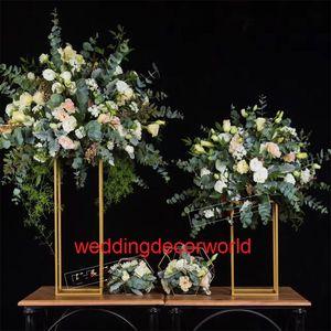 свадебные украшения напольные подсвечники цветок арка свадебные двери ворота вход для свадьбы backgroup 186