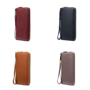 Designer Card Holder Womens Genuine Leather Wallet Brand Mens Cowhide Leather Card Holder Casual Fashion Mobile Phone Handbag Capricorn1978