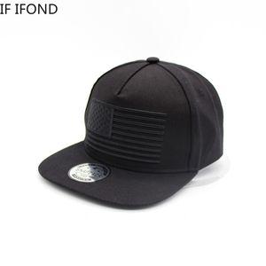Cotton 3D Flag Embroidery Baseball Cap Mens Snapbacks Caps Ourdoor Street dance hat adjustable hats