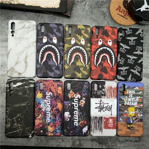 Hot Cool de haute qualité Shark cas pour Huawei P20 Lite P10 plus P30 Téléphone couverture de cas pour Huawei Maté 10 20 Pro Honor Nova 8X V20 V10 2S 3 4 3E