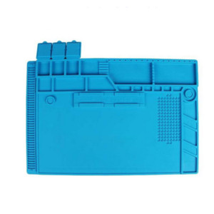 S-170 Magnetic Heat-resistant Soldering Mat Silicone Heat Gun BGA Soldering Station Insulation Pad Repair Tools For Mobile
