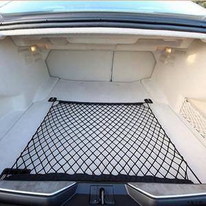 Organizador de Carga de Armazenamento de Bagagem Do Tronco de alta Qualidade 100X70 cm Nylon Malha Elástica Net Para carros Universal