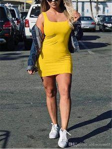 حزب الصيف الصدرية المرأة التنورة أكمام الصلبة الهيئة غير الرسمية فستان قصير أزياء أنثى ملابس مصمم مثير فتاة