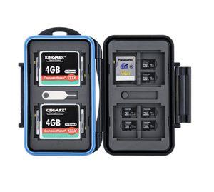 Хранение карт памяти SD / MSD / CF-карты Чехол Водонепроницаемая коробка для камер Canon / Nikon / Sony / Fujifilm / Olympus / Leica
