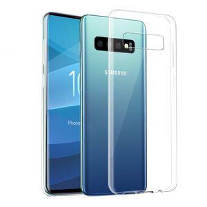 10 stücke Fall Samsung Galaxy S10 5G S110E S9 Software TPU Komponente mit S8 S7 S6 Rand Note10 Pro 9 Transparente Klare Abdeckung