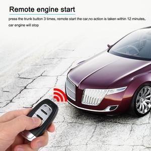 Freeshipping Auto Car Alarm Engine Start Stop Button Inicio remoto abrir y cerrar Windows versión Smart Key PKE Passive Keyless Entry System