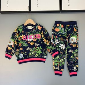 2019New high quality children's long sleeve two-piece suit191007#000000006x