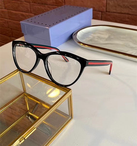 2020 New Style gg0592 Small Cateye fullrim glasses frame 53-17-145 for Women Multi-color Pure-plank for prescription glasses fullset packing
