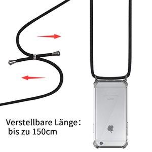 Catena del telefono mobile Custodia protettiva Telefono mobile Telefono Mobile Shell Bag Collana tracolla in qualità Premium iPhone 6 X Xr Xs max