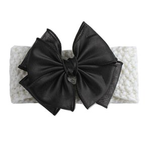 2020 New Baby Headband Children's Big Bow Lace Headband Baby Girl Hair Accessories Hairband Toddlers Lace Clothes