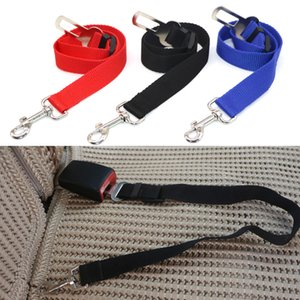 Pet Dogs Safety Vehicle Car Seat Belt Mascotas Dog Seatbelt Harness Lead Clip Levert Adjustable Nylon Pets Puppy Seat Leash