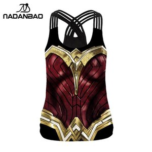 NADANBAO New Arrival Tank Top Women Cosplay Fitness Backless Tops Vest Sleeveless Clothing