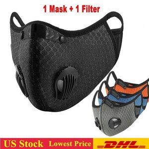 Lowest Price! Cycling Face Mask Designer Masks Outdoor Masks PM2.5 Anti-dust Pollution Running Mask Activated Carbon Filter FY9060