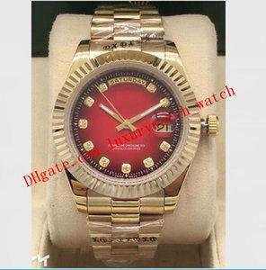 Reloj de lujo Estilo de pulsera Automático Asia de acero inoxidable 41mm Dial personalizado Diamantes mecánicos Acero 6 Hombres con relojes Movimiento 2813 ESSE