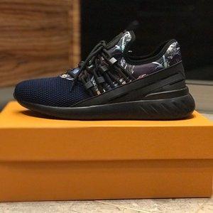LV Shoes 2020UH édition limitée nouvelle des chaussures confortables pour hommes sauvages tendance de la mode décontractée randonnée chaussures de sport chaussures MK01