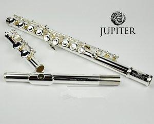 대만 JUPITER JFL-511ES 16 홀 폐쇄 C 키 플루트 큐 프로 니켈 은화 flauta transversal instrumentos musicales 케이스