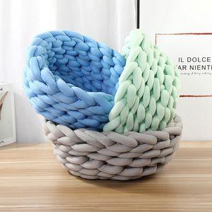 Cotton Dog lettiera canile Tessuti a mano nido domestico cuccia a mano Knit letto allevamento dell'animale domestico casa del nido animale domestico può essere personalizzato