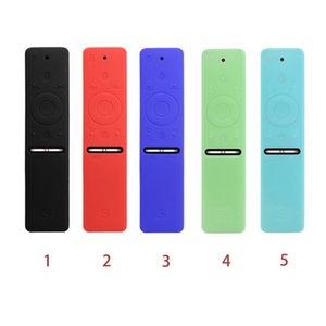 Smart TV Colorful Protective Case Remote Control Non-Slip Cool Ergonomic Accessory TPU Solid Dustproof Soft Silicone For Samsung