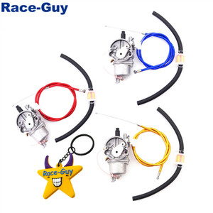 Gas Throttle Cable Carb Carburetor Fuel Line Hose Filter For 2 Stroke 47cc 49cc Engine Parts Mini Dirt Pocket Bike Moto