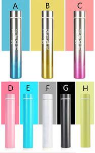 8oz Skinny Mini 8oz Botella delgada Vaso de acero inoxidable Botella de agua delgada con tapa regalo perfecto para mujeres puede personalizar