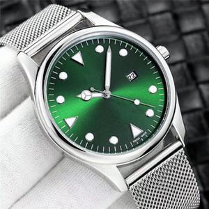 los hombres de lujo del reloj del reloj diseñador de moda militares famosos montres Marca de fábrica vierte hommes Todos los diales de trabajo