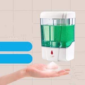 700ml automático dispensador de jabón líquido del sensor de montaje en pared dispensadores de jabón spray desinfectante sin contacto de jabón líquido de goteo del dispensador GGA3614-8