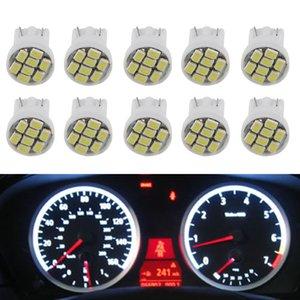 자동차 LED T10 할로겐 8 SMD 1206 SMD 전구 소켓 세트 10 PC를 신호 빛 도어 램프 자동차 계기판 대시 라이트
