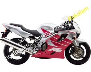 Honda CBR600 F4 CBR 600 CBR600F 4 600F4 Şerit Kırmızı Üstyapı Perileri Kiti 1999 2000 (Enjeksiyon Kalıpları)