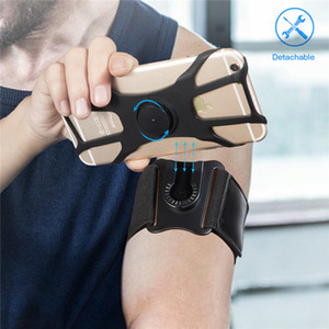 Universal Outdoor Sports Phone Holder Armband Case for iPhone Samsung Gym Running Phone Bag Arm Band Phone Case cover