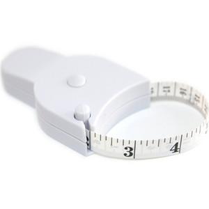 Persönliche 1,5 m Fitness Genaue Körperfett-Messschieber Messen Körper Maßband Maßbänder Lineal Weiß Körperfett-Messschieber
