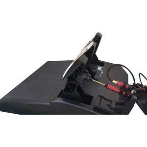 1 Satz Gasbremskupplungspedal Dämpfung für Thrust T3PA T3PA PRO Gaming Racing Modified Ersatzteile Werkzeug Spezial Hydraulik
