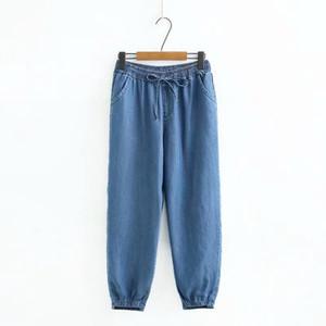 Плюс Размер XL-5XL модные джинсы эластичный пояс длинные брюки простые повседневные джинсовые брюки