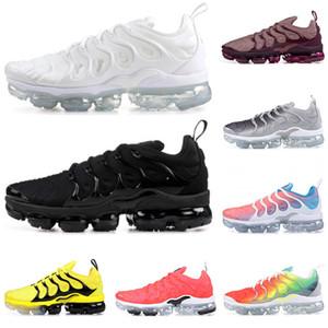 Nike Air Vapormax Plus Tn shoes VM mens tênis de corrida triplo branco preto tns aqua olímpica smokey malva Dip Dye hortelã lava brilho tênis formadores Szie 36-45