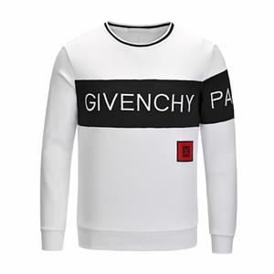 Роскошные дизайнеры с капюшоном свитер толстовка мода кран печати высокое качество мужчины и женщины толстовки унисекс дизайнеры куртка с капюшоном код М-3