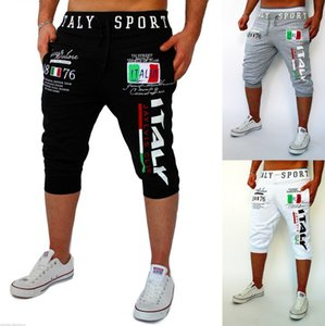 Mens Designer luxury sportPants males sports digital printed design casual cropped trousers fitness top quality fashion trend pants