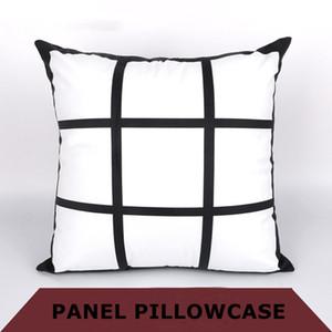 DIY 승화 9 그리드 베개 커버는 폴리 에스테르 베개 케이스 A07를 인쇄 빈 pillowslip 열전 사 인쇄 * 45cm의 열 전달을 45CM