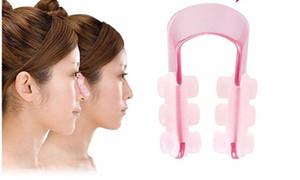 Nase Lifting Clip Silikon-Gel-Schönheit Nase Shaper für Nase Massage mit rosa Farbe freies Verschiffen