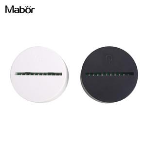 USB كيبل قواعد لمس مصباح لاستبدال 3D LED ليلة 7 قاعدة لون الجدول الزفاف ديكور مصباح حامل قاعدة بالجملة