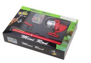 Manufacturer 1 meters FRP boxed pen Fishing Mini Portable fishing Sea throw rod gift rod