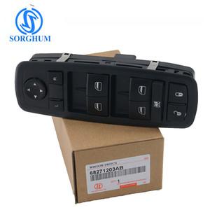 Высокое качество Jeep Cherokee (KL) 2.0 CRD Master Left Driver Power Window Switch для 68271203AB