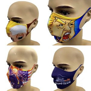 HOT! 4 styles Fashion 2020 Trump masque facial masques lavables design Trump masque facial masque réutilisable