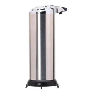 Automatic Sensor Soap Dispenser Auto Induction Liquid Soap Dispensers Stainless Steel Free Wash Machine Foam Soap Dispenser 5pc IIA46