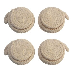 Pastorale Round Wooden Ball Cotton Rope Curtains Tieback Magnet Curtains Holder
