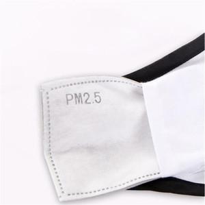 30 50 Pm2.mask almohadillas de filtro de 5 capas de la almohadilla activado máscara de carbono Boca FaAnti polvo Cuidado de la Salud Dis WZT7