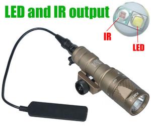 Light Gun tattico SF M300V-IR Light Scout LED bianco e uscita IR fucile da caccia M300 torcia elettrica