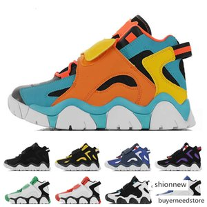 2019 New Arrival Barrage Mid QS Black White Purple Basketball Shoes Men Women Top Quality Yellow Deep blue Green Trainers Sneakers EUR 36-45