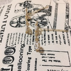 Moda de metal grampo de cabelo C pérolas clássicas letras de strass grampos de design para senhoras recolher luxo presente projeto enfeites de cabelo partido