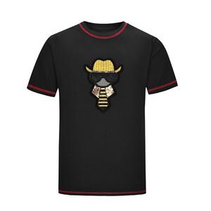 PP20 도매 새로운 남성 T 셔츠 브랜드 스포츠 힙합은 겨울 남자의 티셔츠를 디자인 짧은 소매 코튼 힙합 디자이너 망 여성 t shir